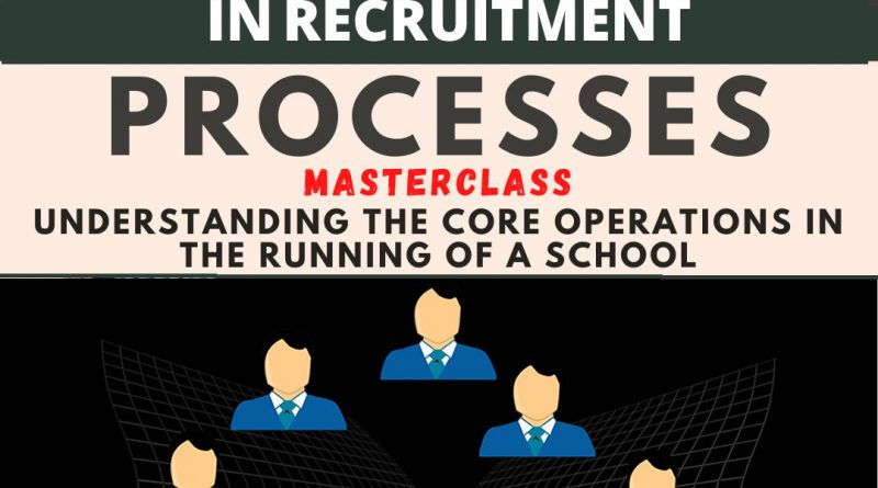 HOW TO SELECT THE RIGHT TEACHERS FOR RECRUITMENT